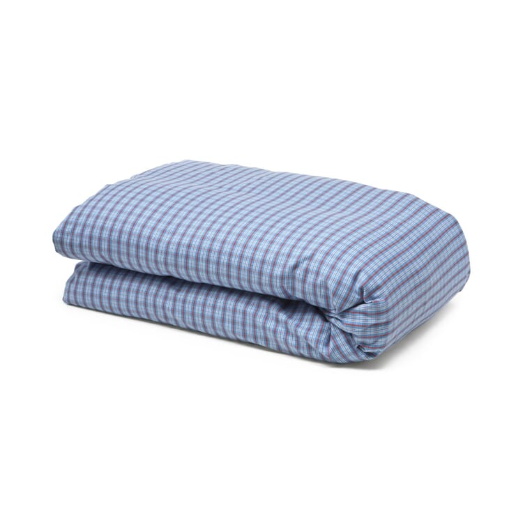 Duvet Case Made of Flannel in Hochficht Check Pattern