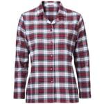 Women's Flannel Pyjamas by Novila Blue-Red