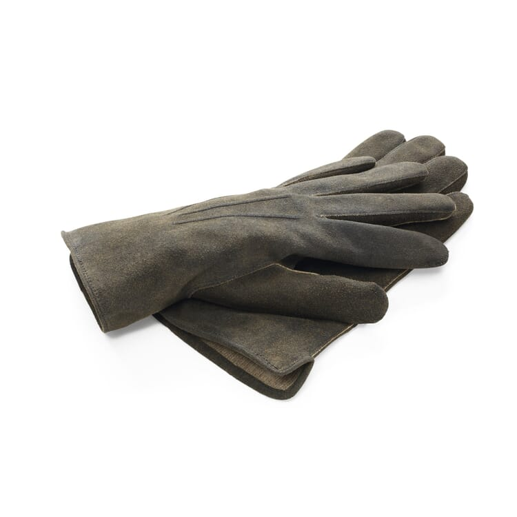 Men's Gloves Made of Kid Leather (Goatskin) by TR