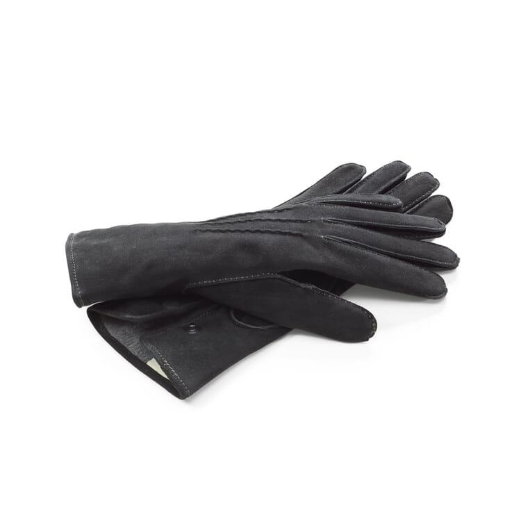 TR Damenhandschuh Rentierleder, Anthrazit