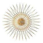 Stern Scherenschnitt Gold 20 cm