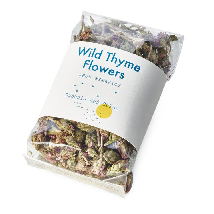 Wildthymianblüten