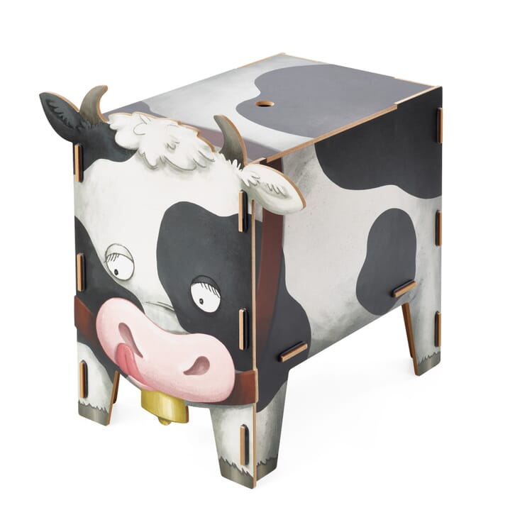 Chest and Stool, Cow