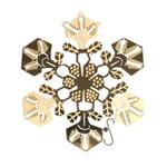 Weihnachtsschmuck Snowflake Groß