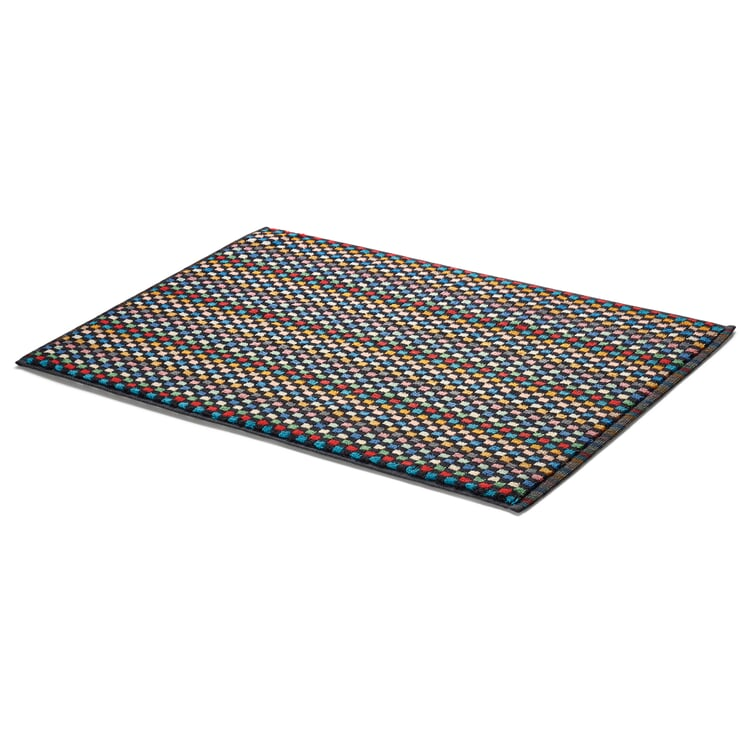 Towel Made of Chequered Terry Cloth Bathmat
