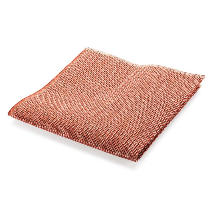 Linen Dishcloth Orange