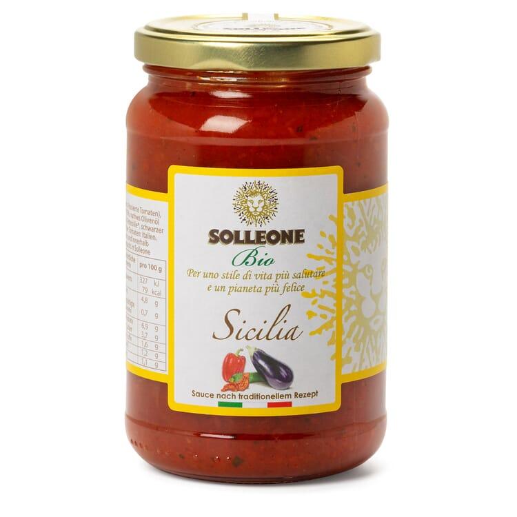 Solleone Bio-Tomatensoße Siciliana
