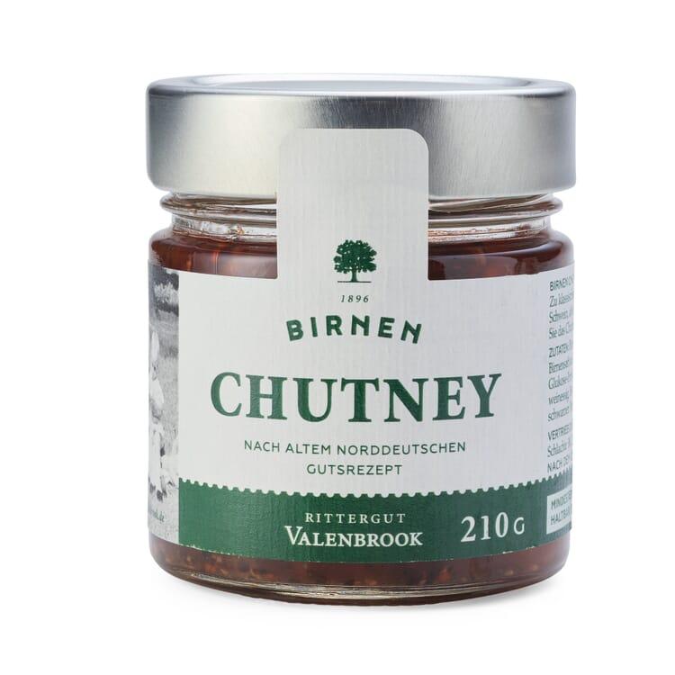 Birne-Berberitze-Chutney