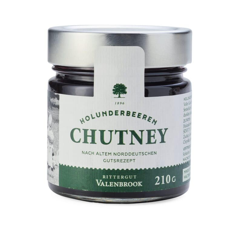 Holunderbeeren-Senfsaat-Chutney