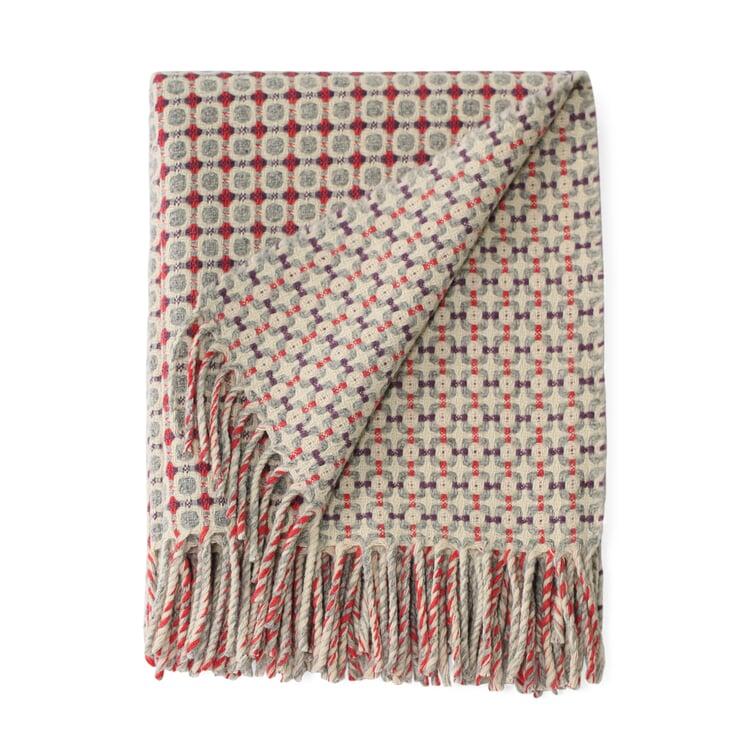 Decke Manteca Blanket Koralle