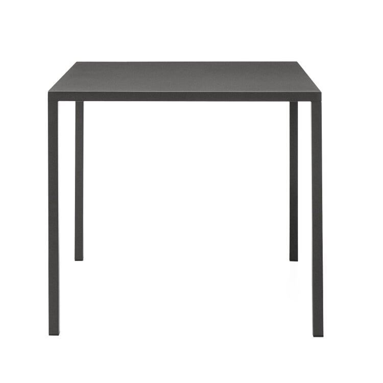 Tisch Fabbrico, quadratisch Anthrazit