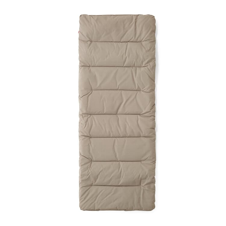 Cushion for lounger XXL, Taupe