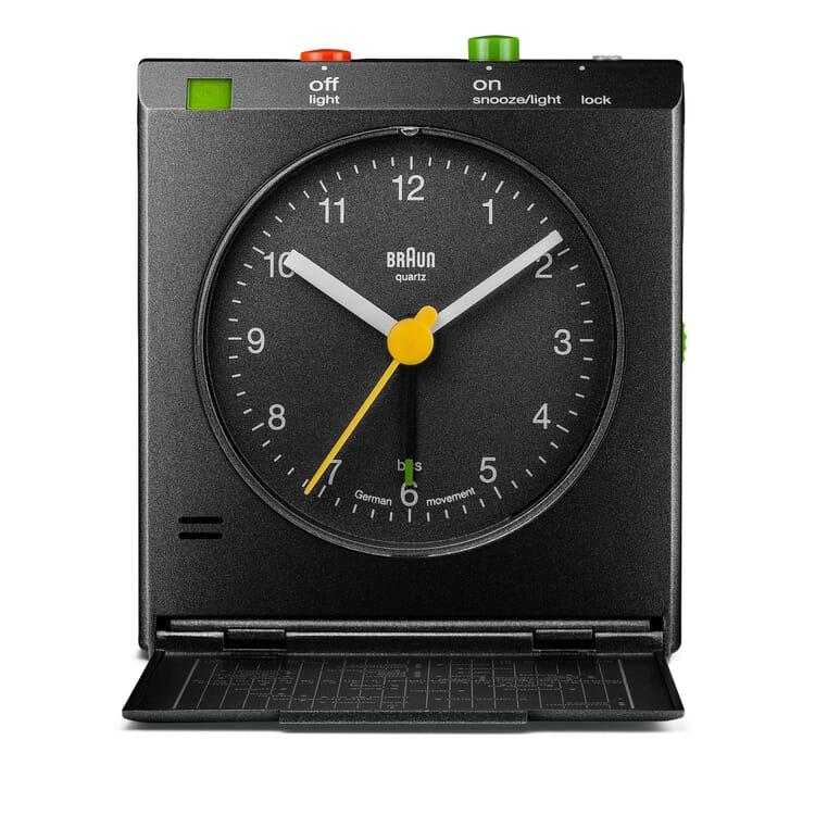 Braun Foldable Travel Alarm