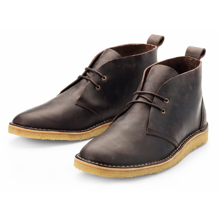 Ekn Men's Crêpe-Soled Boot Brown