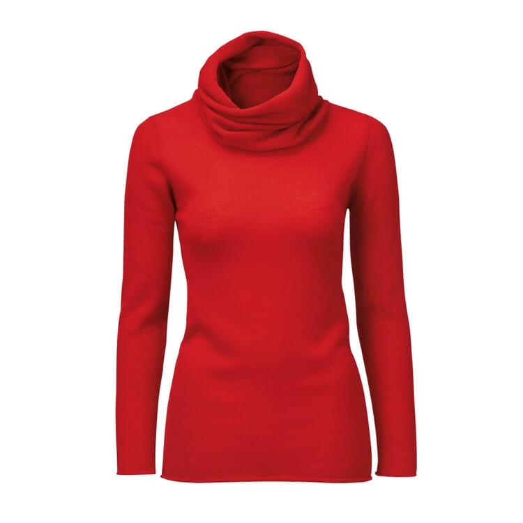 Villa Gaia Ladies Cashmere Jumper, Red