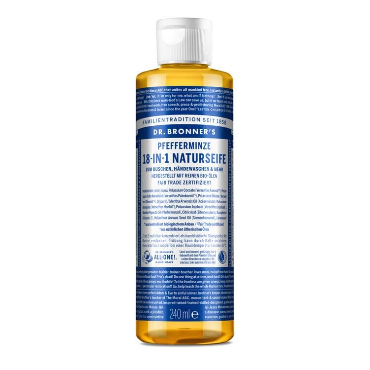 Dr. Bronner's Shower Gel Peppermint