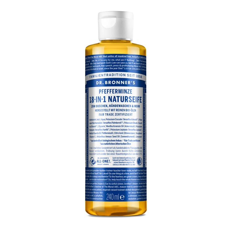Dr. Bronner's Shower Gel, Peppermint