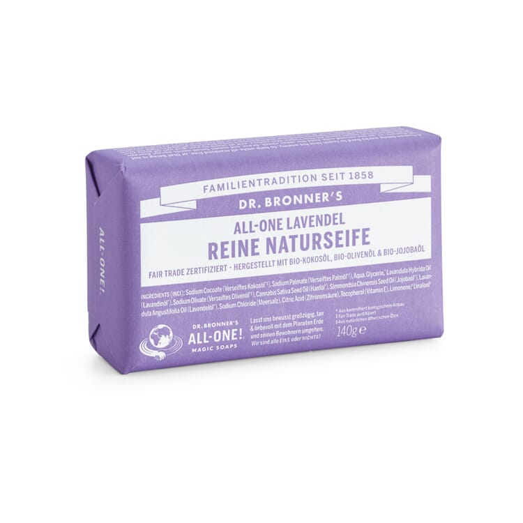 Dr. Bronner's Soap Bar, Lavender