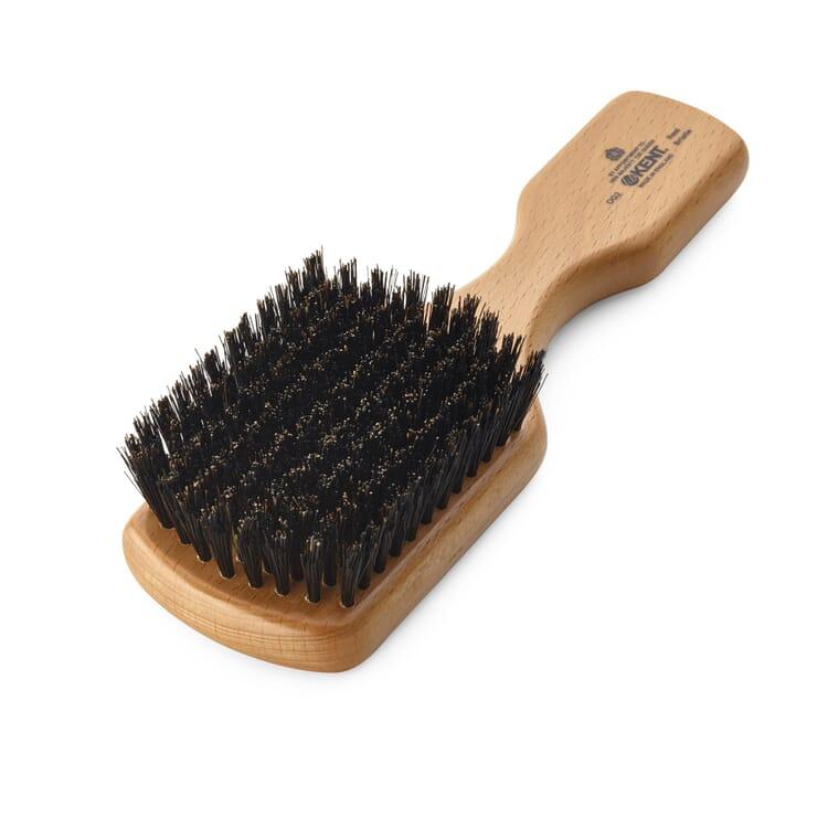 Kent Boar Bristle Hairbrush Black