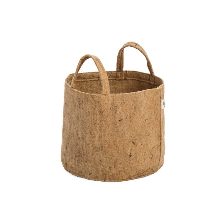 Fabric Planter Made of Jute, Volume 30 l