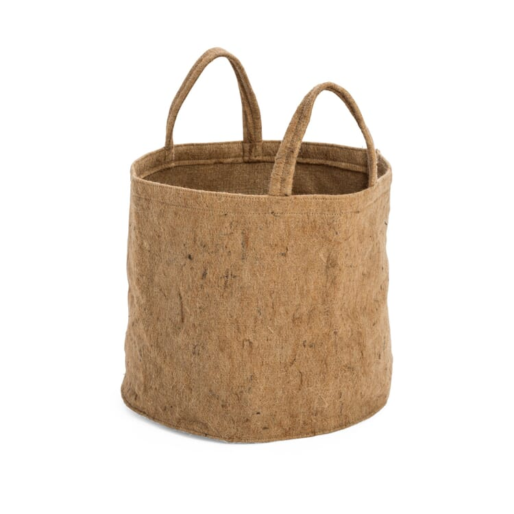 Fabric Planter Made of Jute, Volume 40 l
