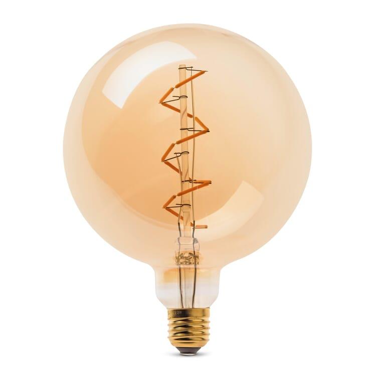 LED Filamentlampe goldgelüstert Kaventsmann
