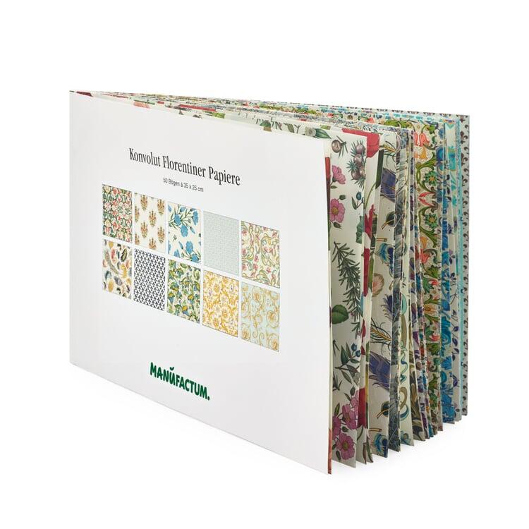 50 Sheet Block of Florentine Paper