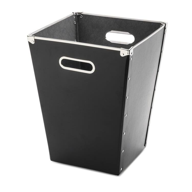 Cardboard Waste Paper Basket Black