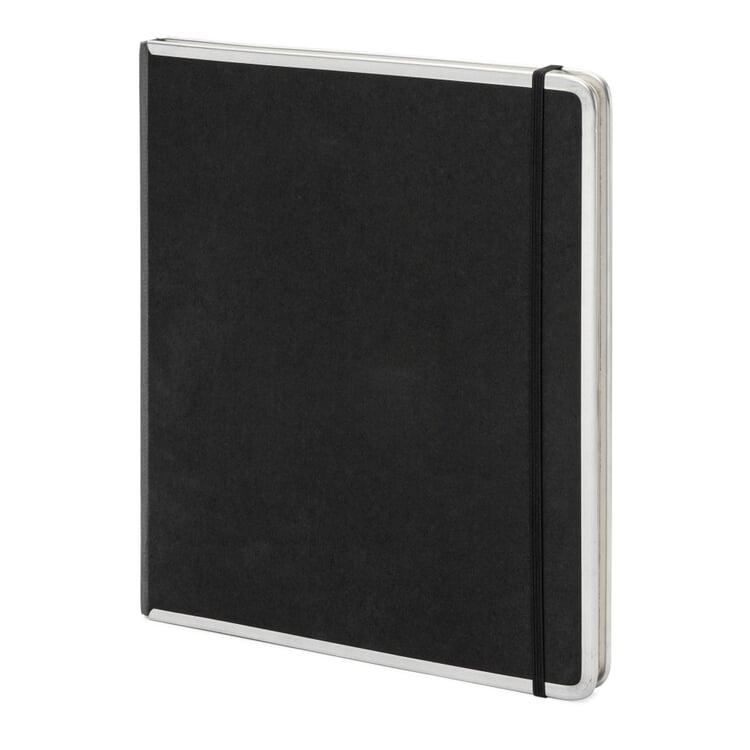 Metal edged office book blank
