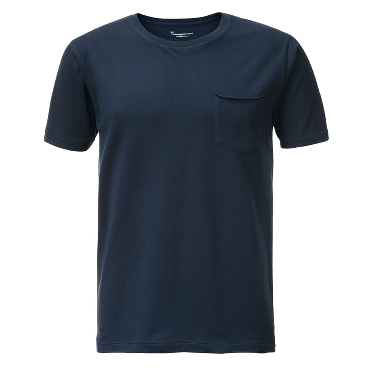 Baumwoll-Shirt, Dunkelblau