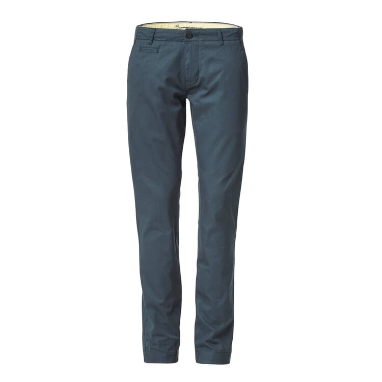 Chino Trousers by Knowledge Cotton Apparel, Dark blue