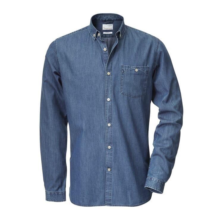 Knowledge Cotton Apparel Cotton Shirt