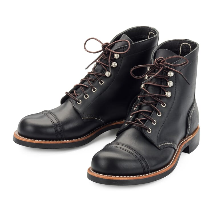 Red Wing Women's Iron Ranger, Black