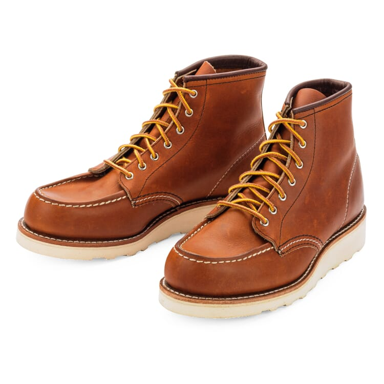 Red Wing Moc Boot Damen, Hellbraun