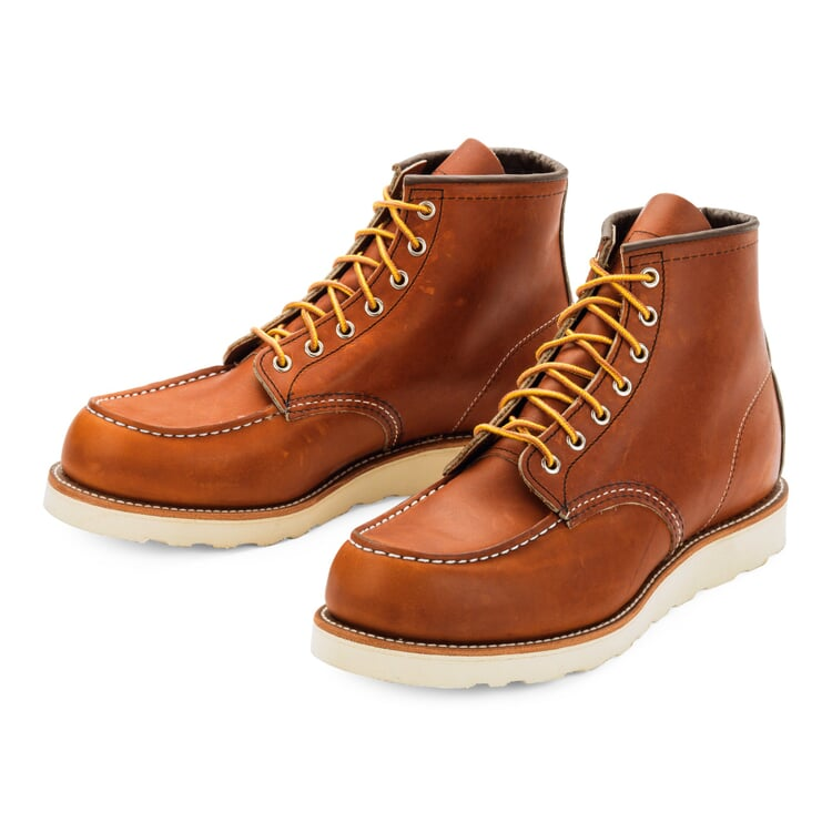 Red Wing Moc Boot Herren, Hellbraun
