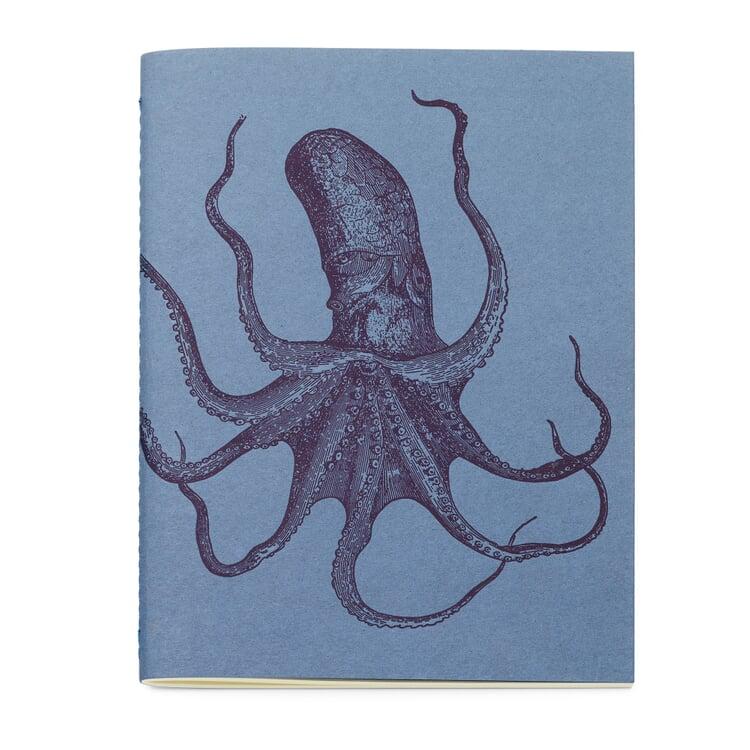 Schreibheft Tiermotiv Oktopus
