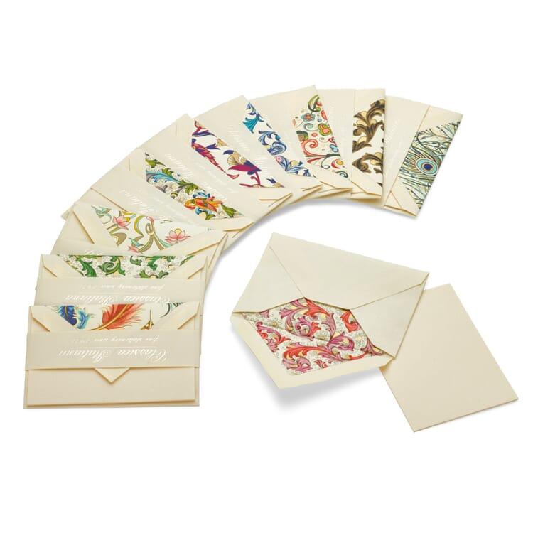 Grußkärtchen Florentiner Papier