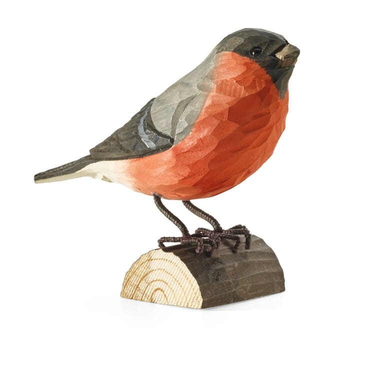 Bullfinch Hand-Carved from Lime Wood