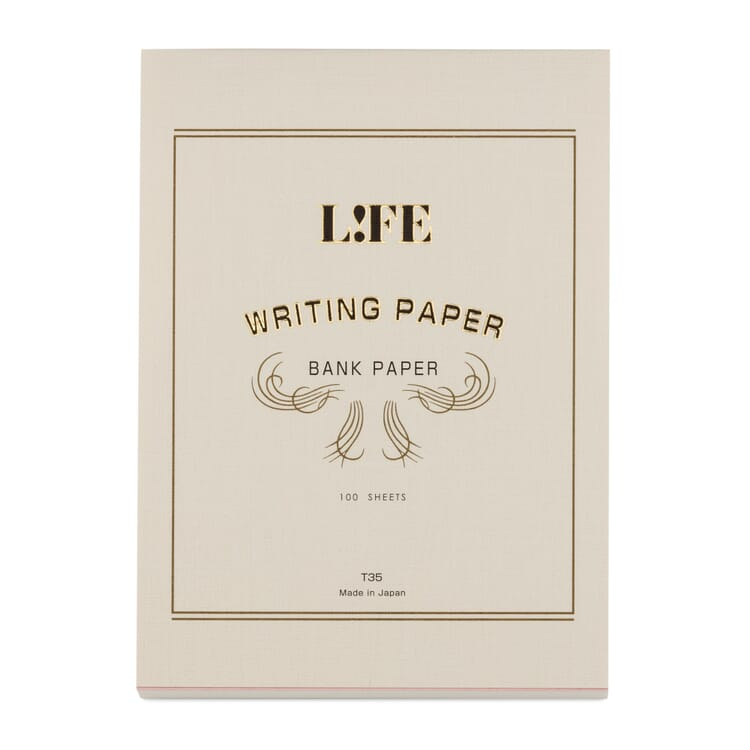 Schreibblock Bank Paper