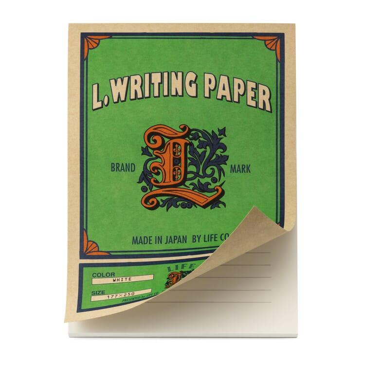 Schreibblock liniert