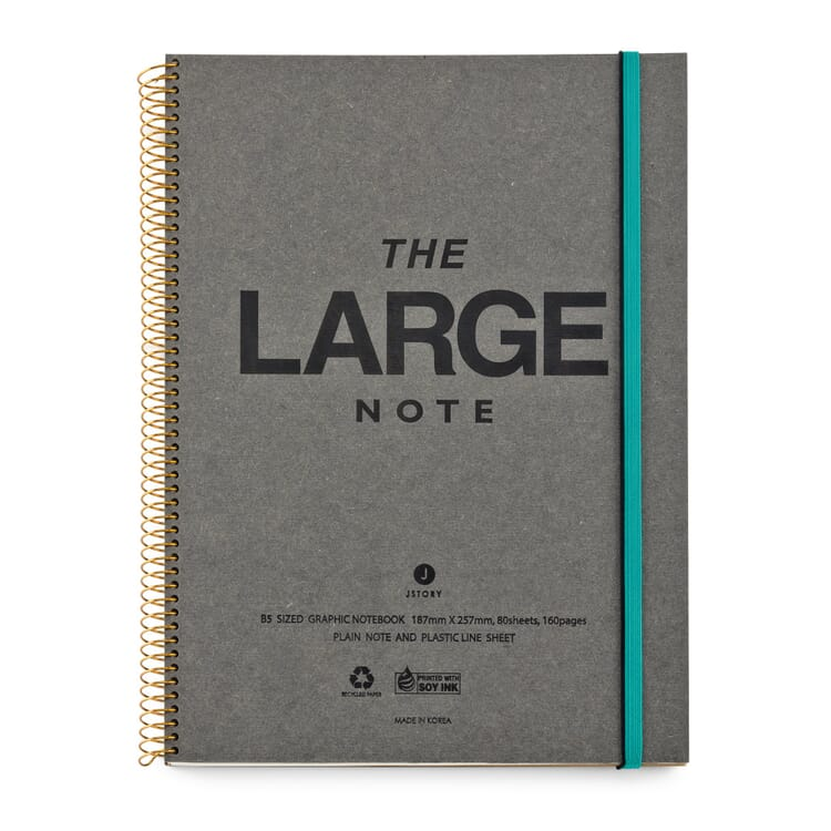 Note Book with Coil Binding