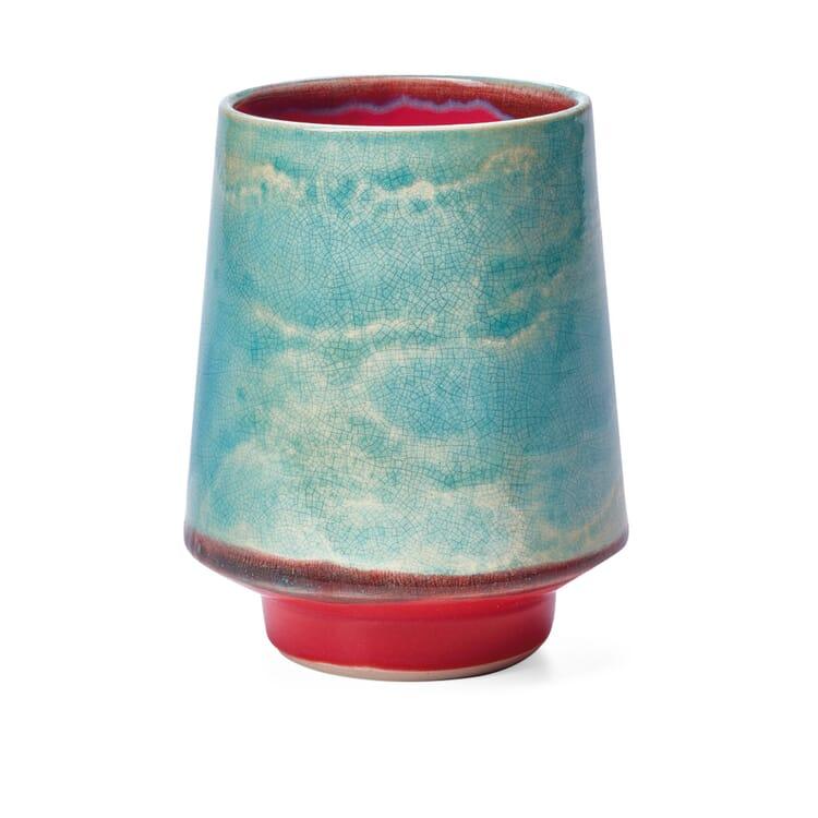 Bogler Trinkgefäss himmelblau-Himbeer