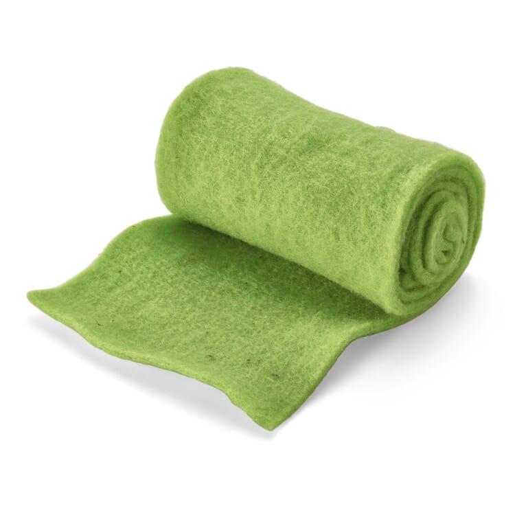 Winterschutzmatte Schafwolle, Grün