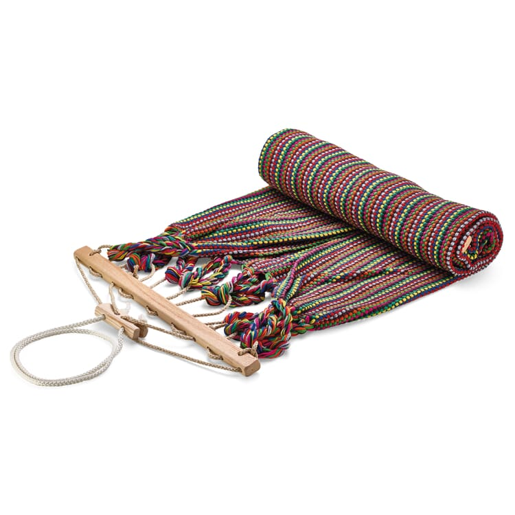 Single Hammock in Cotton, Assorted Colours