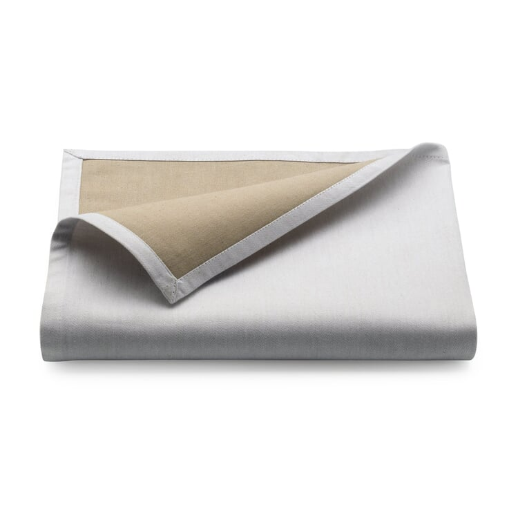 Tischdecke Bicolore Klein Weiß