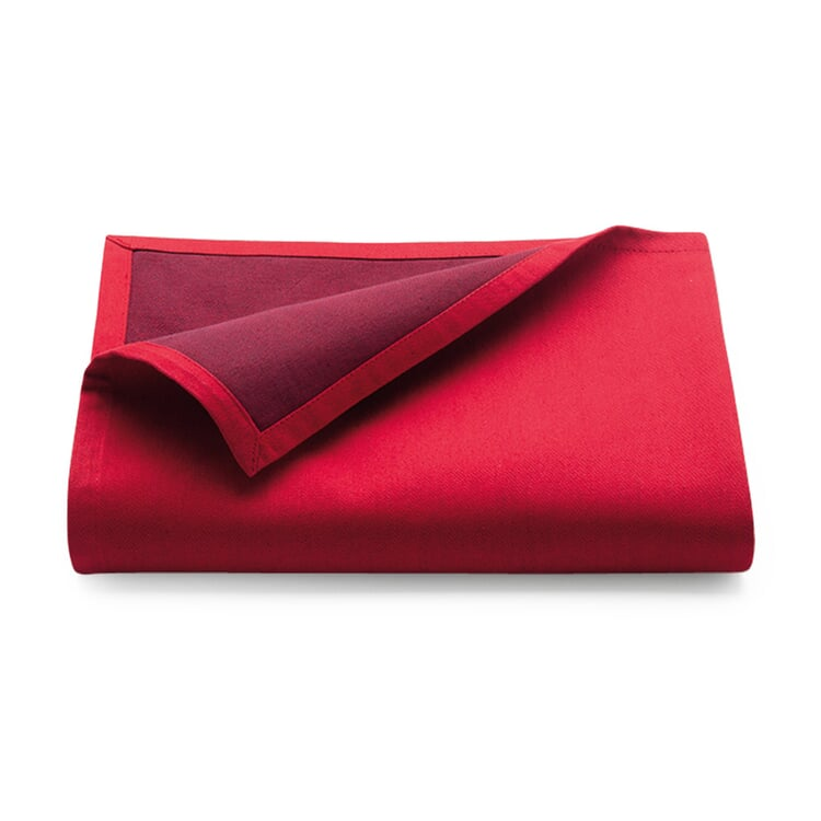 Tablecloth Bicolore Large Red