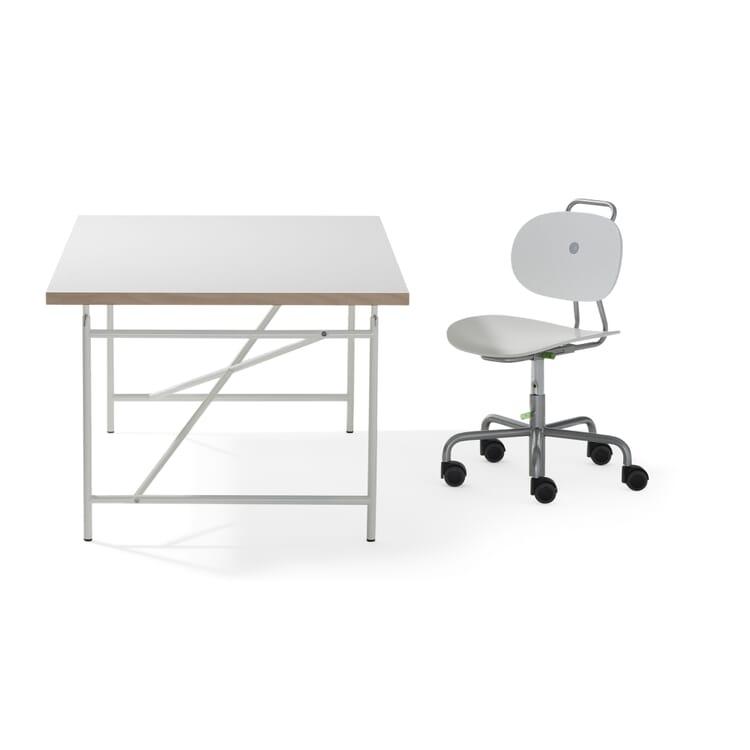 Children's Desk Eiermann, Pure White RAL 9010