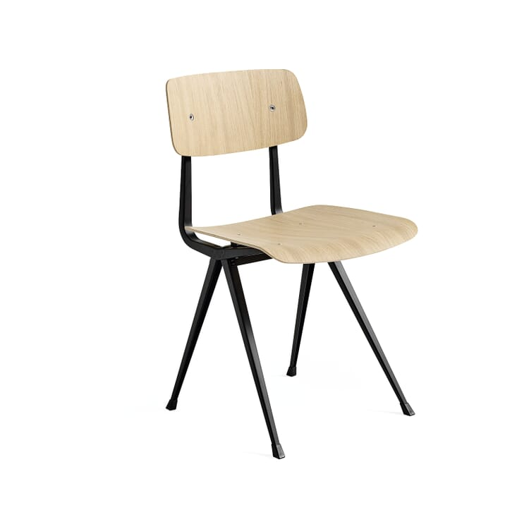 Chair Result, Black and Oak
