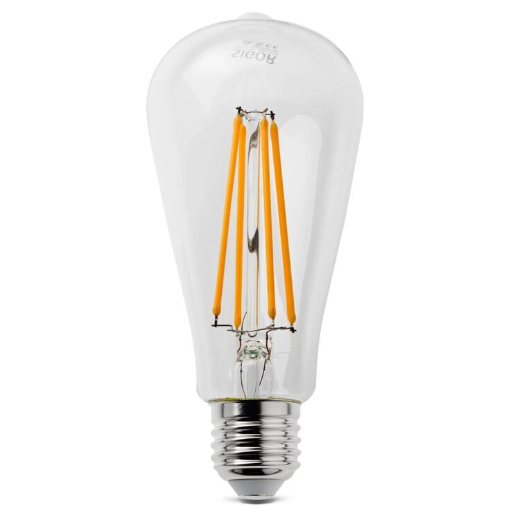 LED-Filament-Rustikalampe E27