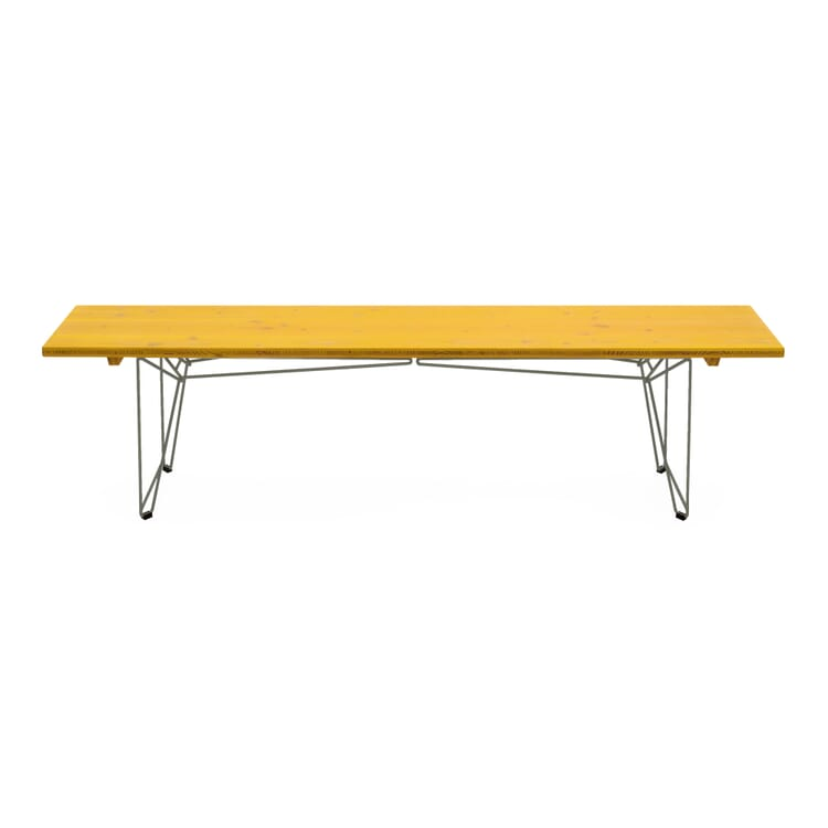 Table and Bench BTB Top, Zinc Yellow